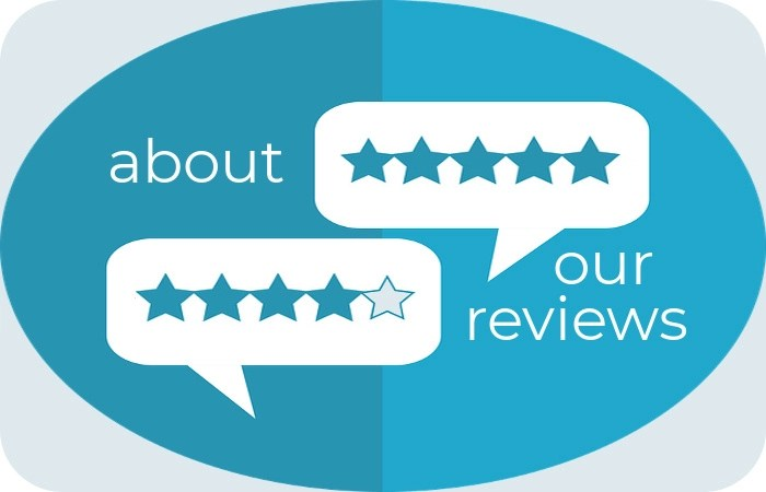 about our reviews