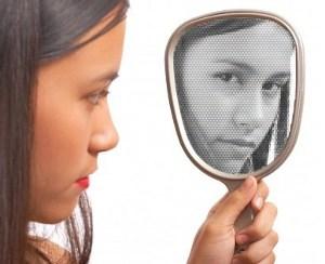 the girl in the mirror © Stuart Miles | freedigitalphotos.net