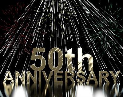 50th Anniversary © Stuart Miles | freedigitalphotos.net