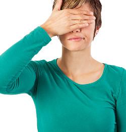 woman hiding eyes © Fotofreaks   Dreamstime.com