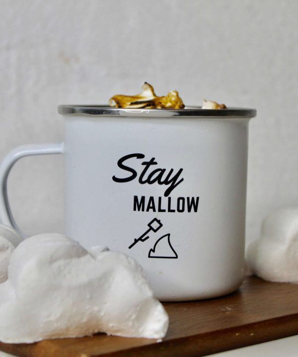 Stay Mallow Enamel Mug