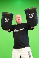 Darrin with pads
