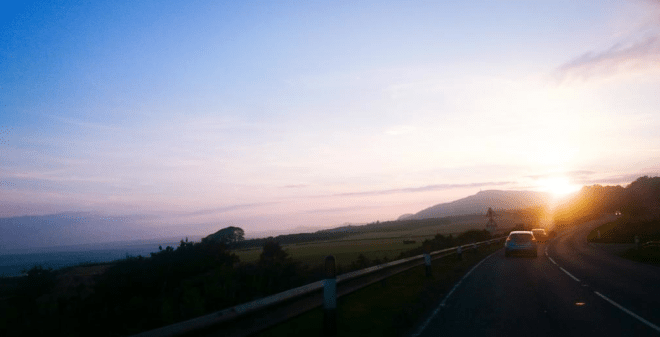 RAB - sunset