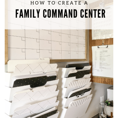 a simple family command center