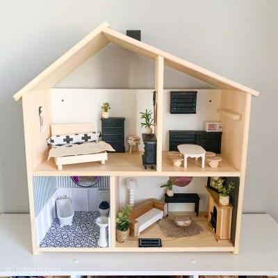 Ikea Dollhouse Makeover