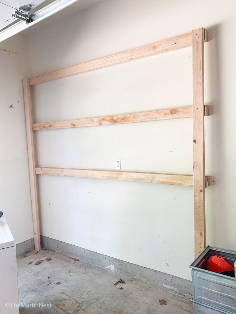 DIY Garage Shelving