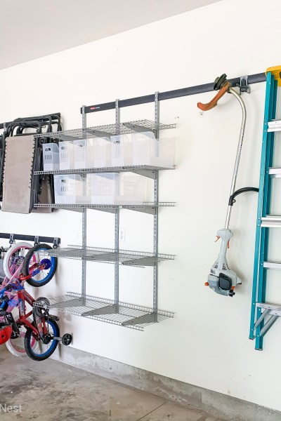 Rubbermaid Fast Track Garage Wall Organization