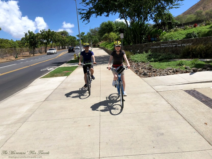 Downhill Cycling from Diamond Head to Waikiki