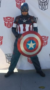 Cosplay Captain America