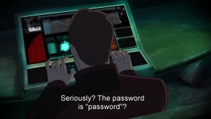 Star-Lord shows kids the do's and don'ts of passwords