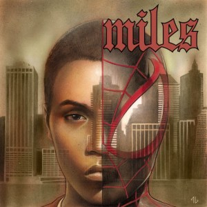 Miles Morales as Nas's Illmatic