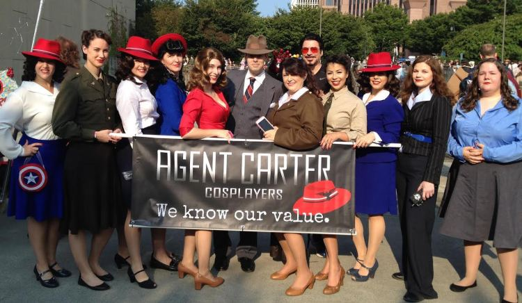Agent Carter Cosplayers