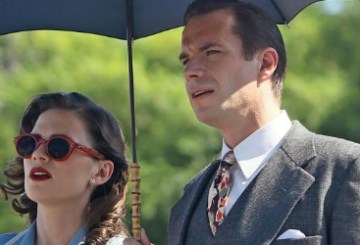 Edwin Jarvis and Peggy Carter from Marvel's Agent Carter Season 2