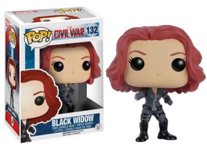 Funko Pop Civil War Black Widow