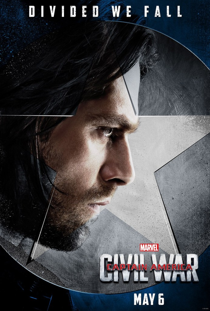 Captain America Civil War character posters