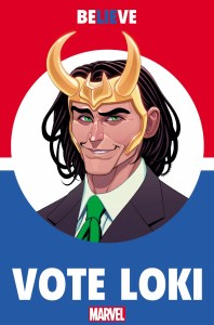 Vote Loki #1 cover by Tradd Moore