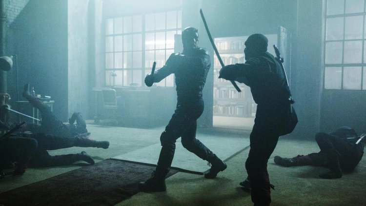 Daredevil Ninja Fight 2x12