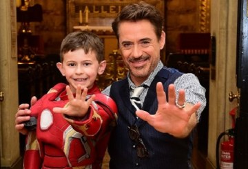 Robert Downey Jr GOSH childrens hospital