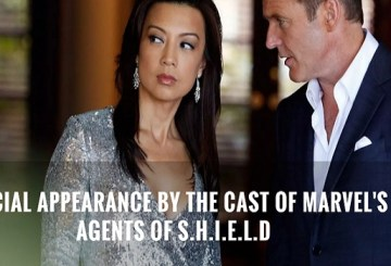 Agents of SHIELD at SDCC