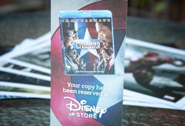 Civil War Blu Ray preorder exclusive