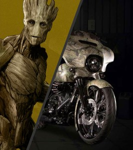 Groot Street Glide® Special Big-Hearted