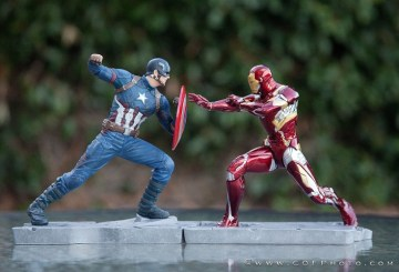 Kotobukiya Civil War Figures