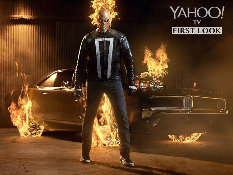 Your first look at Marvel's Agents of SHIELD's Ghost Rider