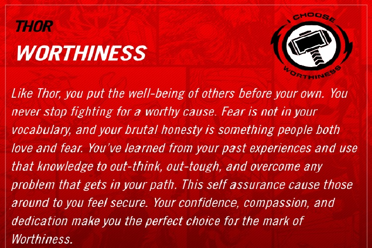 Mark of Worthiness