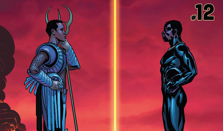 Black Panther #12 Review Cover Feature