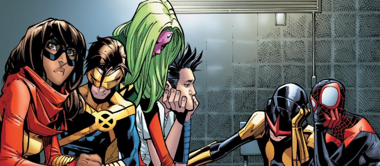 Champions #7 Review Champions in Jail