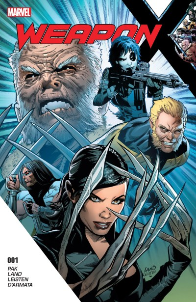 Weapon X #1 Review Cover