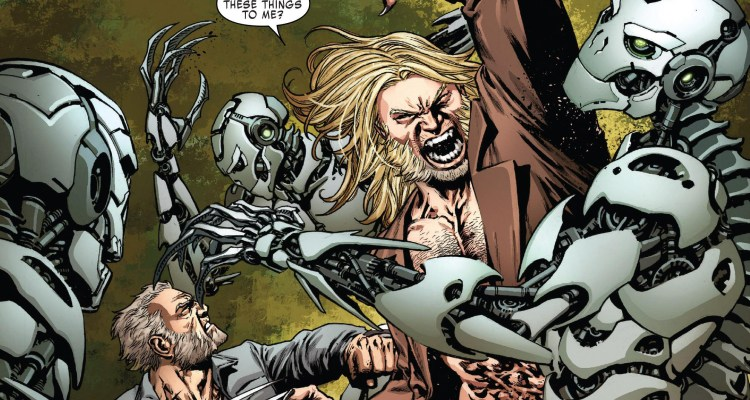 Weapon X #2 Review Logan and Sabretooth Fighting Cyber