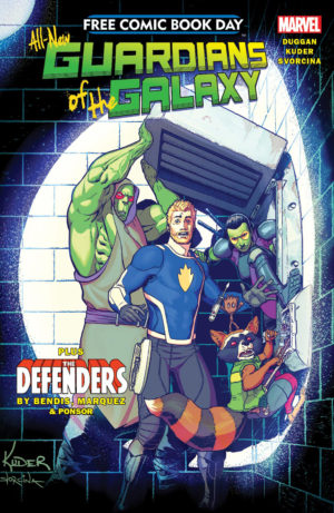All New Guardians of the Galaxy FCBD Review Cover