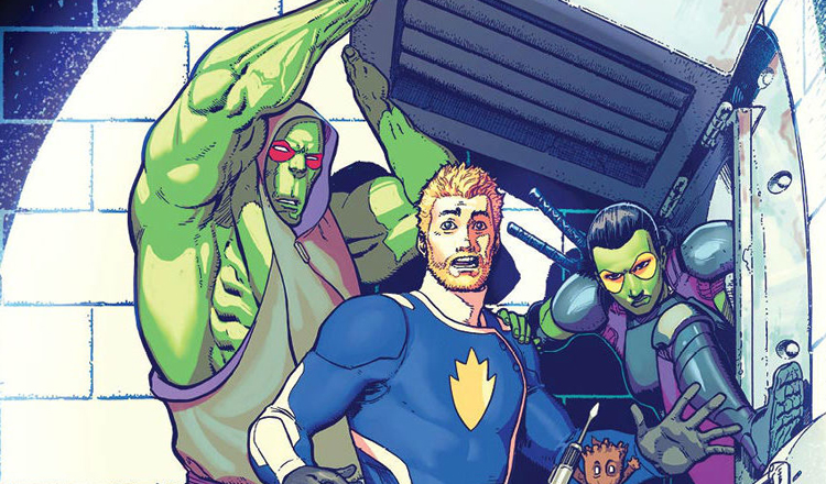 All New Guardians of the Galaxy FCBD Review Feature
