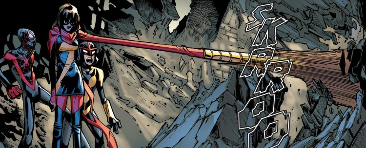 Champions #8 Review Ms. Marvel mad