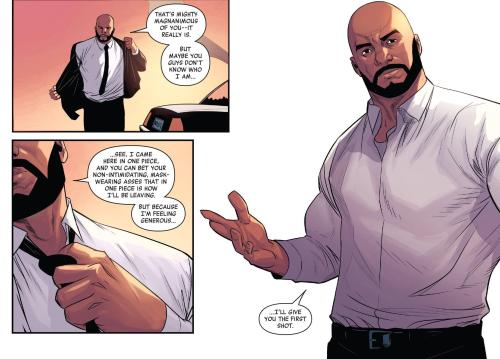 Luke Cage #1 You Don't Know Woo I Am