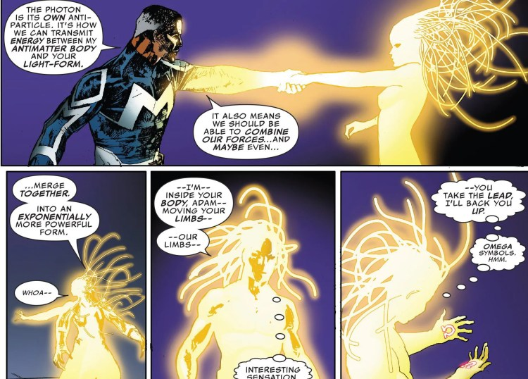 The Ultimates 2 #6 Review Spectrum and Blue Marvel Merge