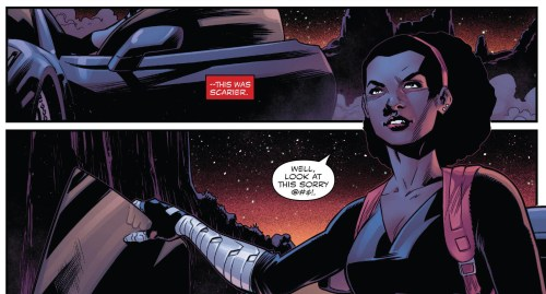 Captain America Sam Wilson #22 Misty Knight