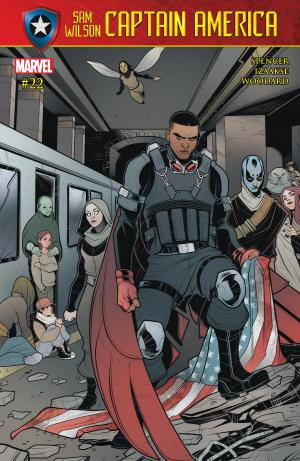 Captain America Sam Wilson #22 Review Cover