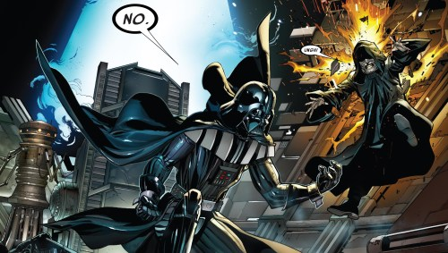 Darth Vader #1 Review Darth Vader vs Darth Sidious