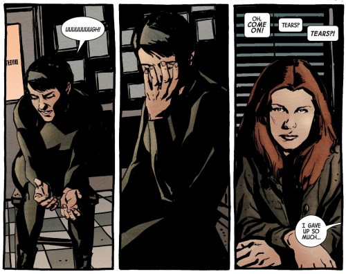 Jessica Jones #10 Maria Hill Tears