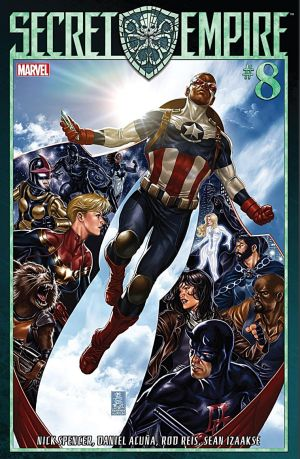 Secret Empire #8 Cover