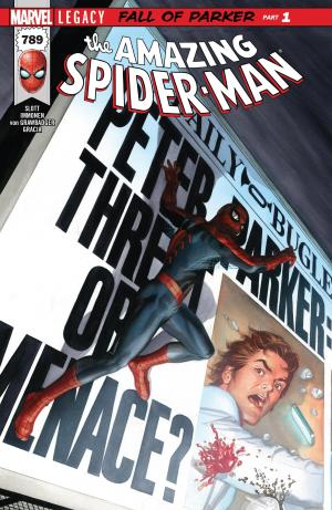 The Amazing Spider-Man Legacy Cover