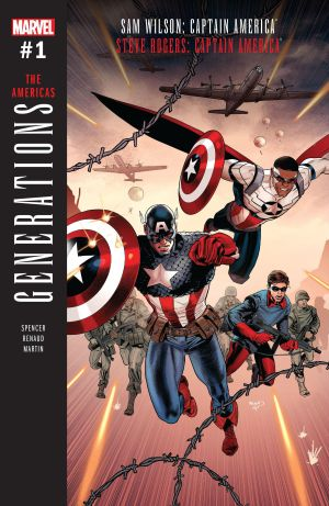 Generations The Americas #1 Cover