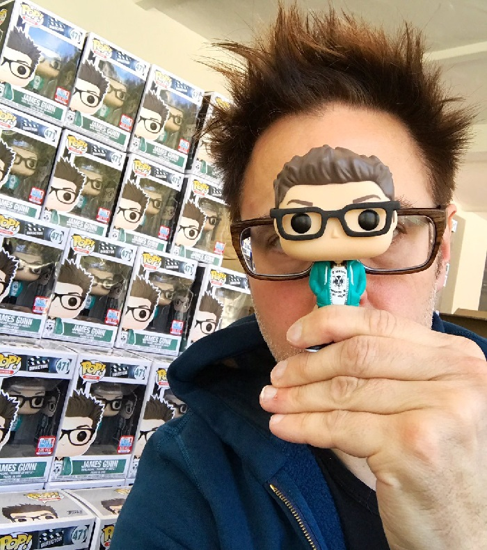 James Gunn Funko Pop Raffle