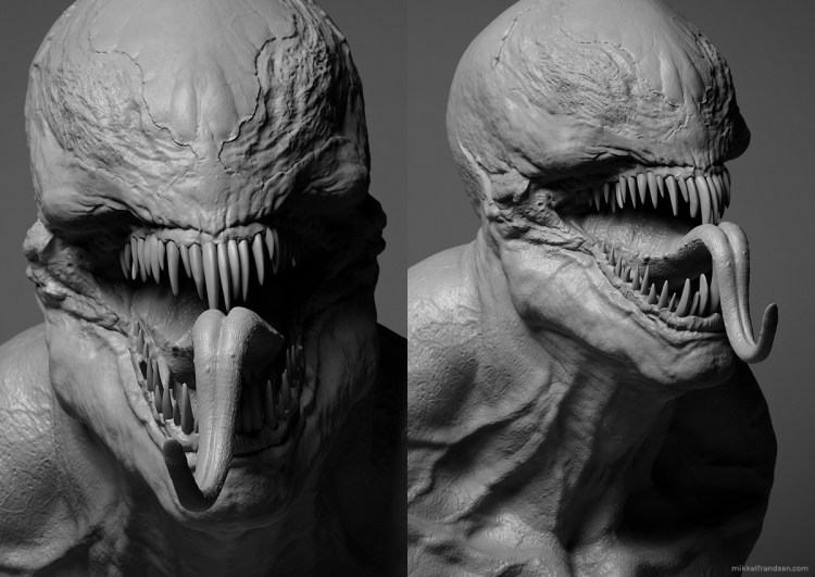 Venom Is This Our First Look At The Cgi Creature Design For Tom