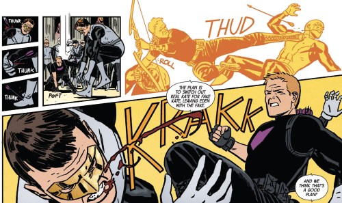 Hawkeye #14 Review Hawkeye Fighting