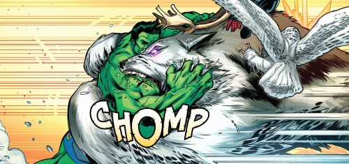 Champions #21 Review Hulk