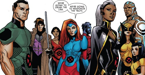 X-Men Red #5 Review Team
