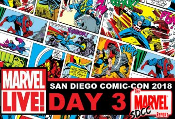 Marvel LIVE SDCC 2018 Day 3